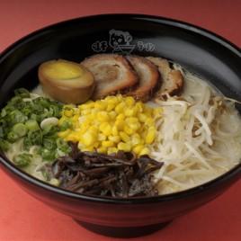 Corn With BBQ Pork Ramen<br>粟米叉燒拉麵