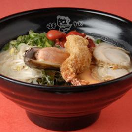 Assorted Seafood Ramen<br>海鮮拉麵