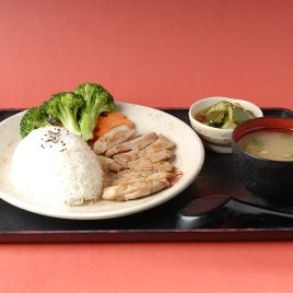 Chicken Teppanyaki Rice Set<br>鐵板雞排飯定食