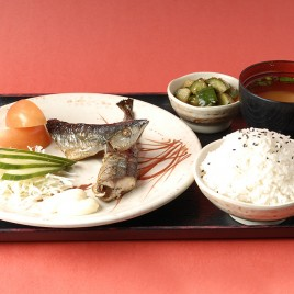 Grilled Sanma Rice Set<br>秋刀魚飯定食