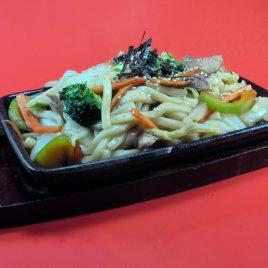 Japanese Pan Fried Udon<br>日式鐵板炒烏冬