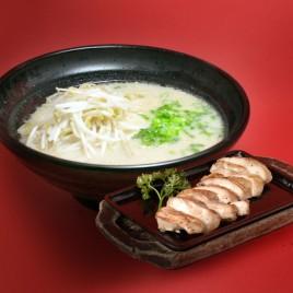 Koji Salt Chicken Teppanyaki Ramen<br>鹽麴鐵板雞排拉麵