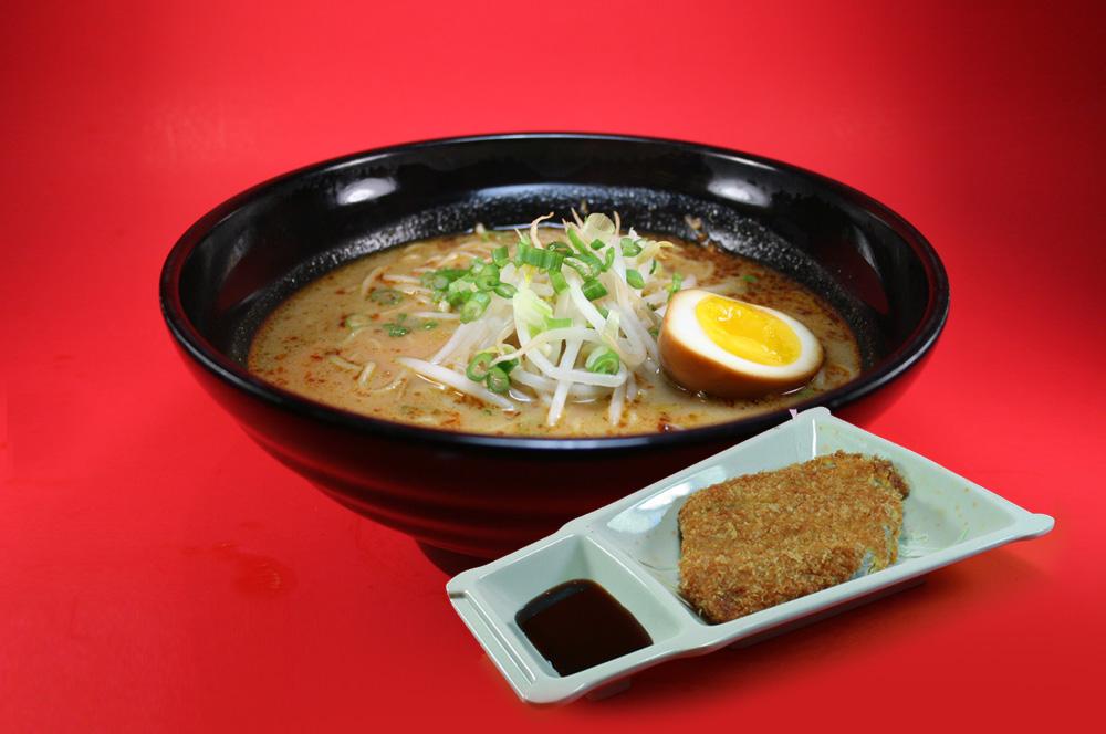 Spicy Miso Pork Cutlet Ramen辣面豉吉列豬排拉麵 – Ajisen ...