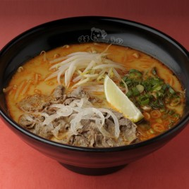 Tom Yum Beef Teppanyaki Ramen<br>冬蔭功鐵板牛肉拉麵