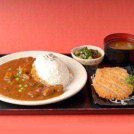 Curry Pork Cutlet Rice Set<br>咖哩吉列豬排飯定食